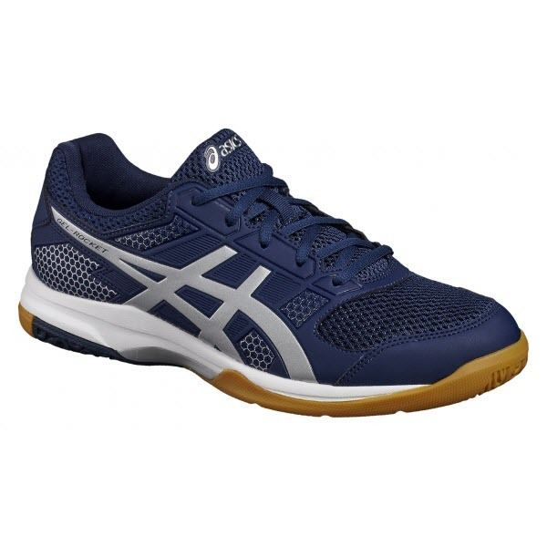 Asics Men's Gel-Rocket 8 - Indigo/Silver/White