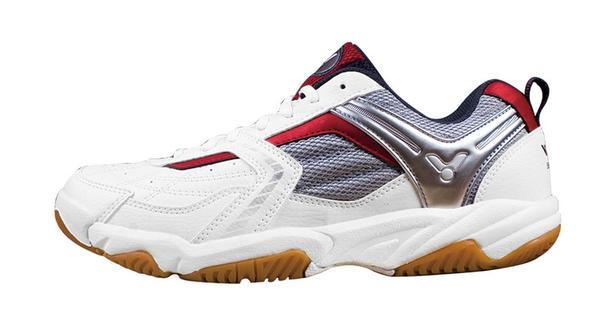 Victor SH501D Badminton Shoe - White/Red