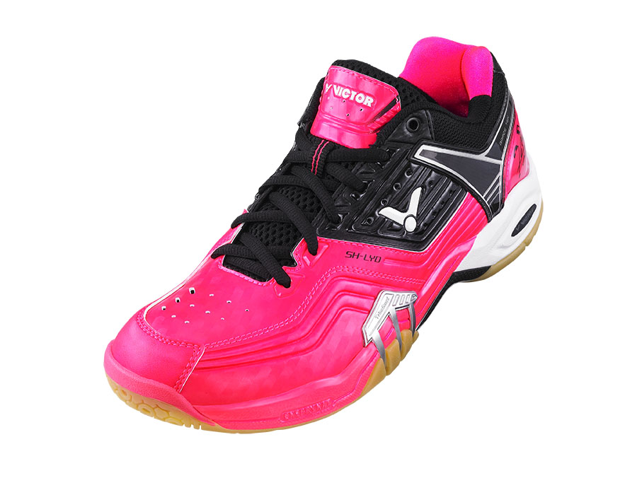 Victor SHLYDQ Badminton Shoe - ROSE RED