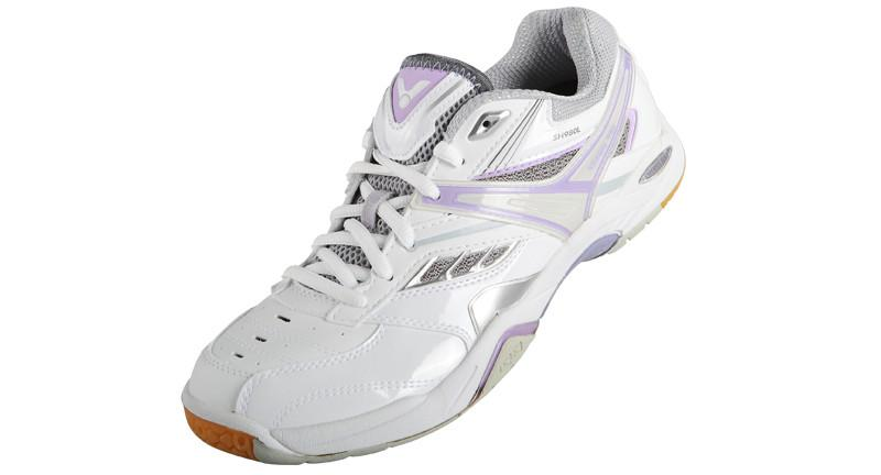 Victor Women's SH980LJ Badminton Shoe - White/Purple
