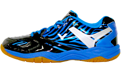 Victor AS-@80-CF Badminton Shoe - Black/Blue