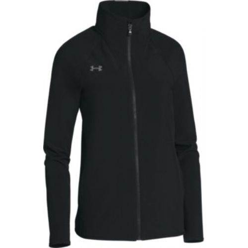 Under Armour Women's Squad Woven Full Zip Jacket