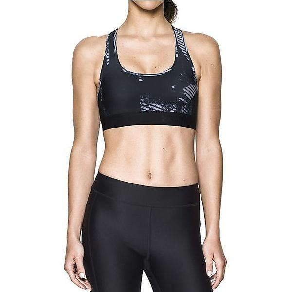 Under Armour Women's Crossback Debossed Sports Bra