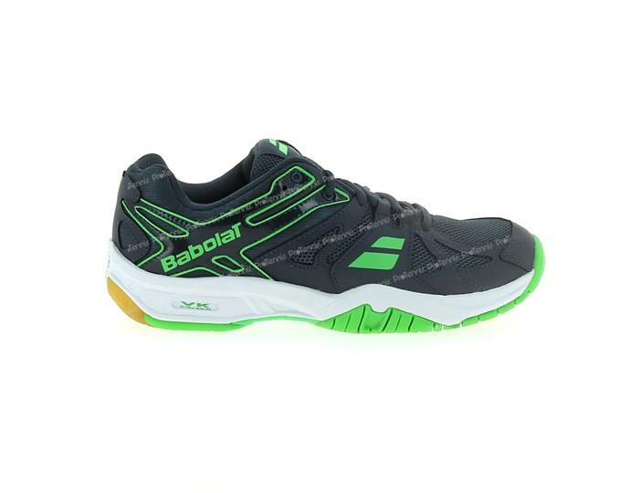 Babolat Shadow Team Men's Badminton Shoe - Anthracite/Green