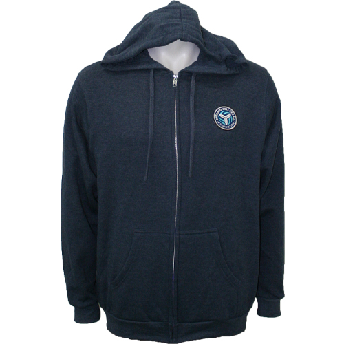 OVA 2019 Event Full Zip Hoodie - Heather Navy
