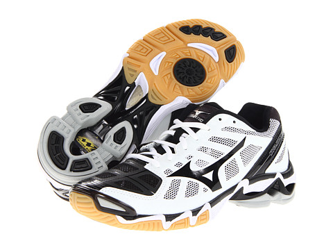 Mizuno Women's Wave Lightning RX2 - White/Black