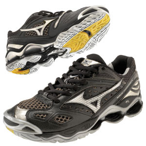 Mizuno Women's Wave Tornado 6 - Black/Silver