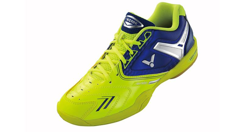 Victor AS-@80-E Badminton Shoe - Yellow/Blue