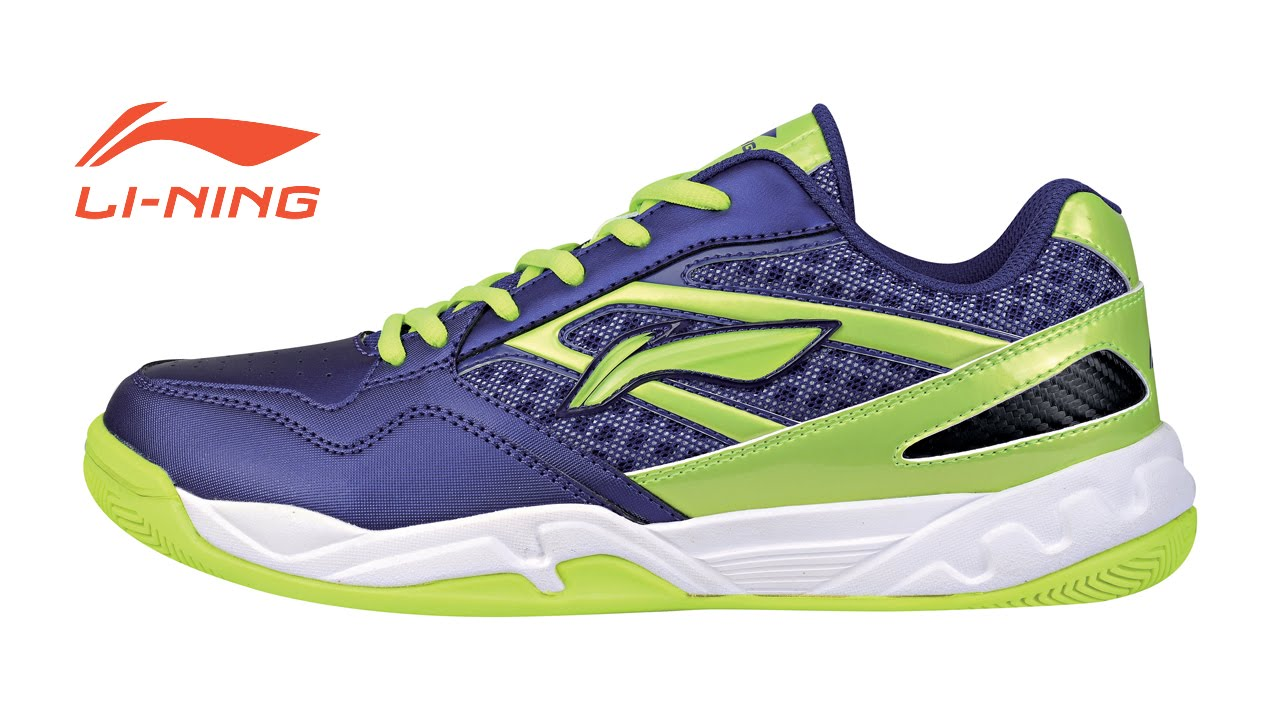Li-Ning Men's Badminton Shoe - Purple