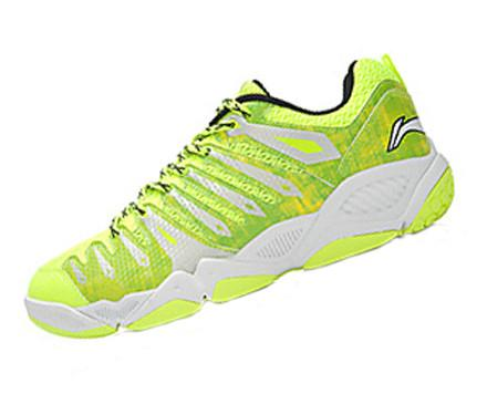 Li-Ning Men's AYTK057-3 Badminton Shoe - Flash Green