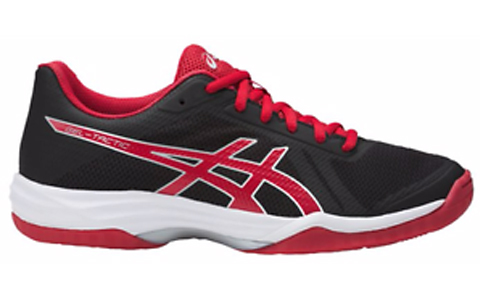 Asics Women's Gel-Tactic 2 - Black/Red/Silver