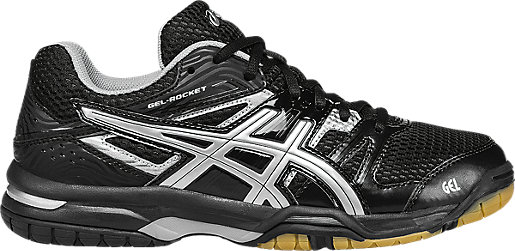 Asics Women's GEL-Rocket 7 Onix/Silver