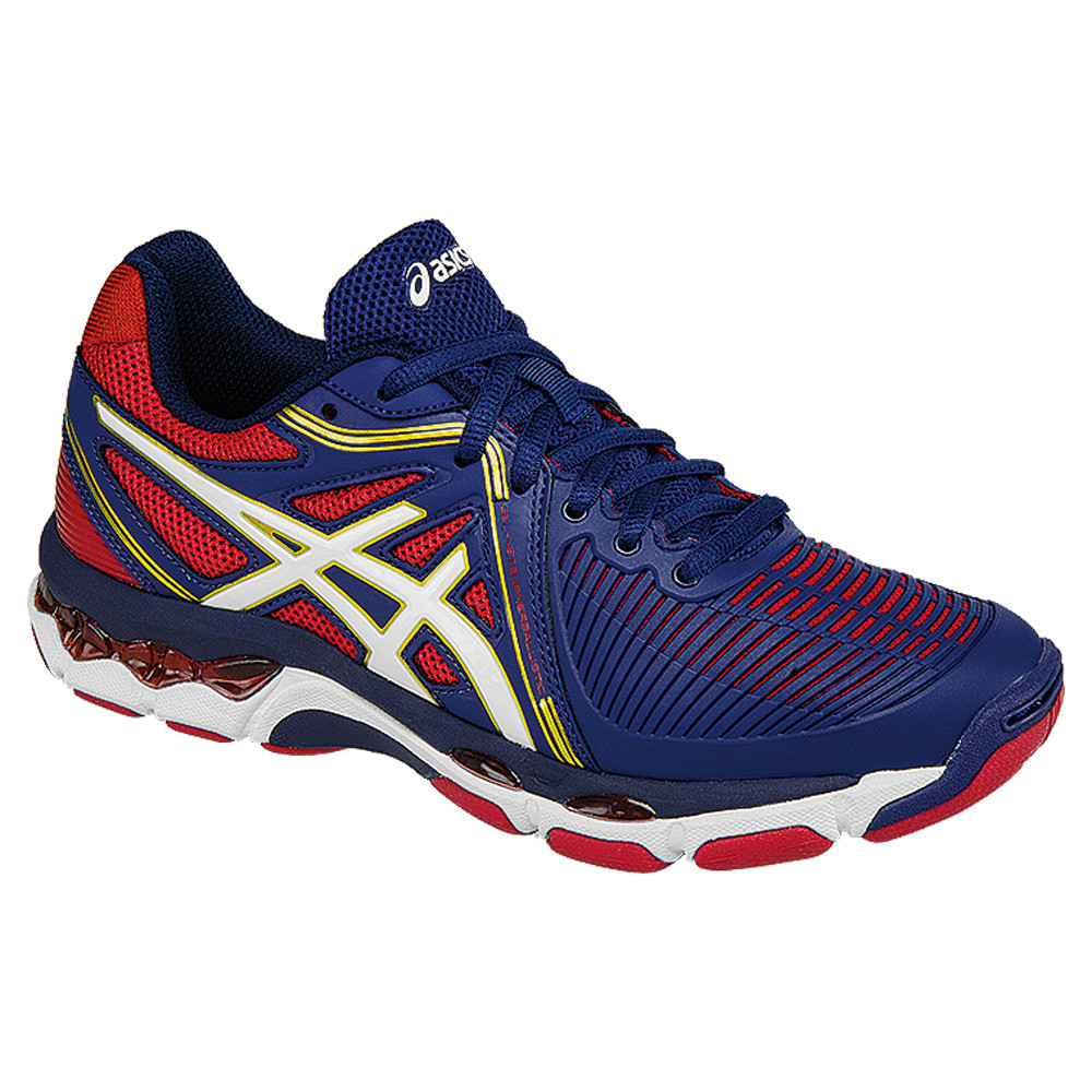 Asics Women's GEL-Netburner Ballistic - Estate Blue/White/Red