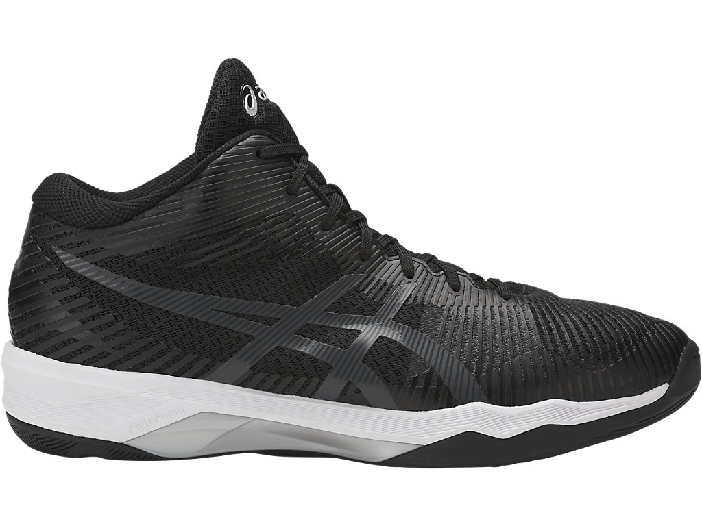 Asics Men's Volley Elite FF MT - Black/Grey/White