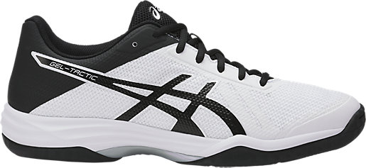 Asics Men's Gel-Tactic 2 - White/Black/Silver