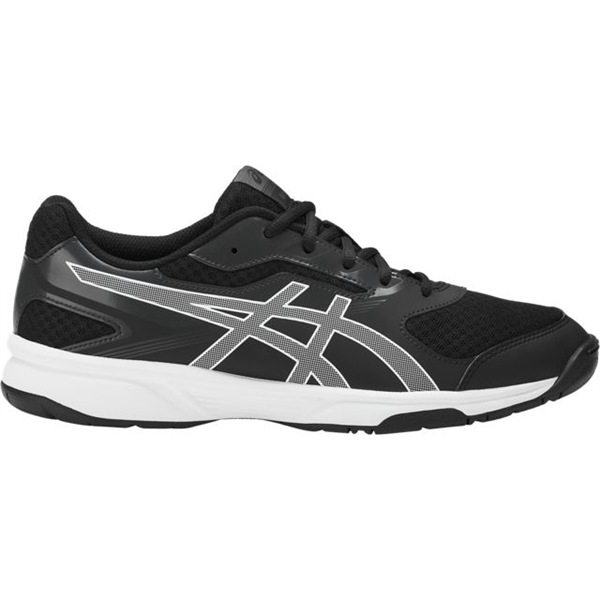 Asics Men's Upcourt 2 - Black/White/Dark Grey
