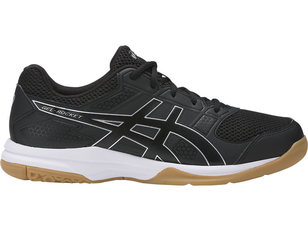 Asics Men's Gel-Rocket 8 - Black/Black/White