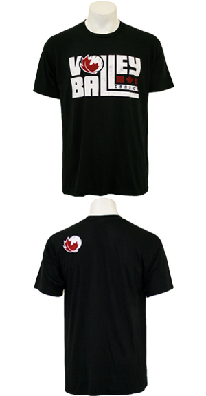 Canuckstuff Stacked Volleyball Tee