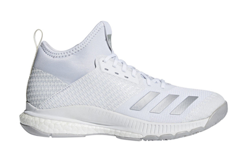 Adidas Women's CrazyFlight X2 Mid - White/White