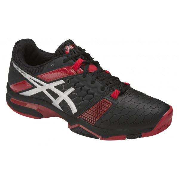 Asics Men's GEL-Blast 7 - Black/Silver/Red