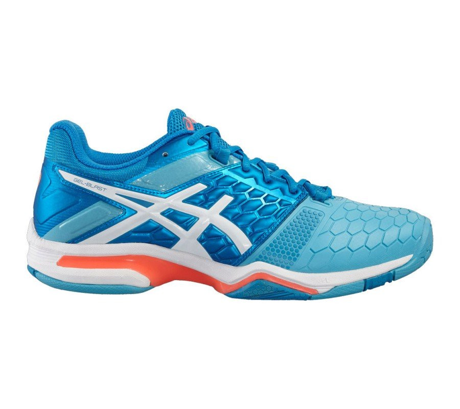 Asics Women's GEL-Blast 7 - Blue Jewel/White/Yellow
