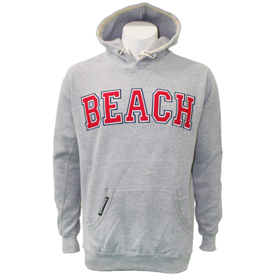 Overkill Beach Hoodie - Graphite Heather