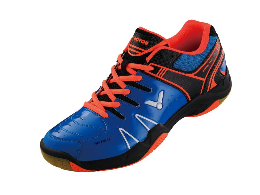 Victor SH-A610-FO Badminton Shoe - Blue/Orange