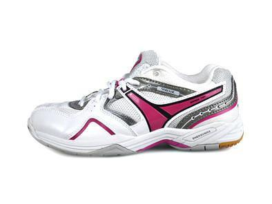 Victor Women's SH810LJ Badminton Shoe - White/Purple
