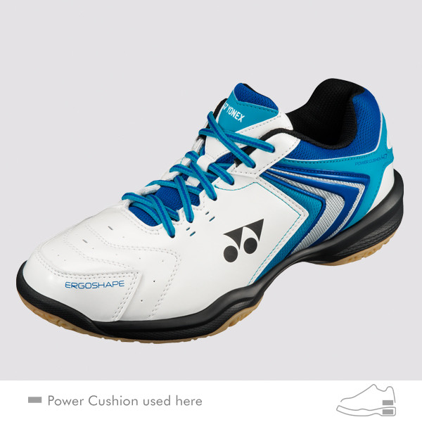 YONEX MEN'S POWER CUSHION 47 SHB47EX - White/Royal