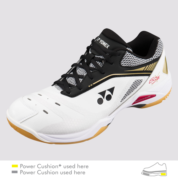 YONEX MEN'S POWER CUSHION 65X WIDE - SHB-65