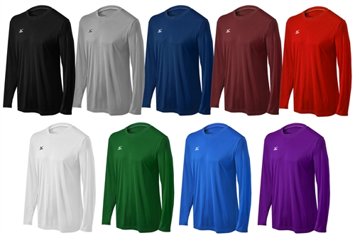 Mizuno Men's Long Sleeve Hybrid Tee