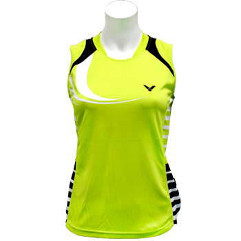 Victor Women's Sleeveless Shirt-0135N NEON GREEN - FINAL SALE