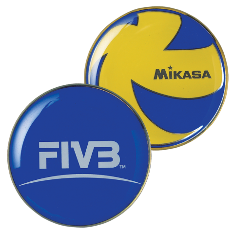 Mikasa Official Referee Flipping Coin