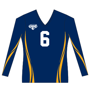 Canuckstuff Women's Long Sleeve Sublimated Jersey U1WLS
