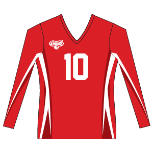 Canuckstuff Women's Long Sleeve Sublimated Jersey U5WLS