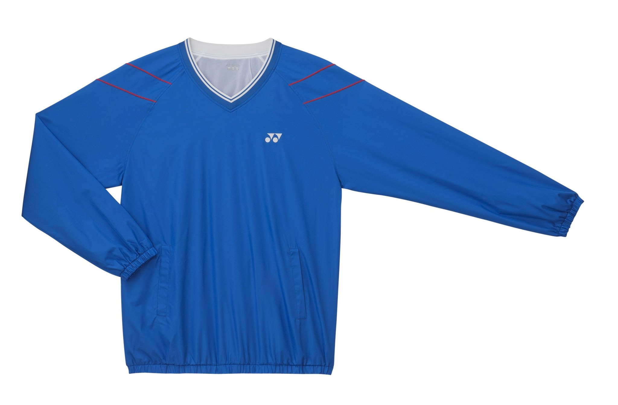 Yonex V-Neck Wind Shirt U9434EX BLUE - FINAL SALE