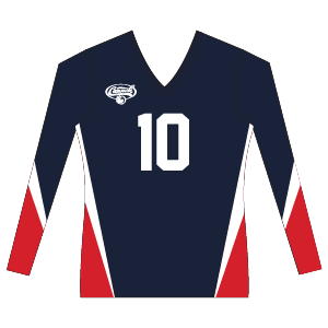 Canuckstuff Women's Long Sleeve Sublimated Jersey U9WLS