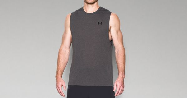 Under Armour Men's Threadbone Muscle Tank - Dark Grey
