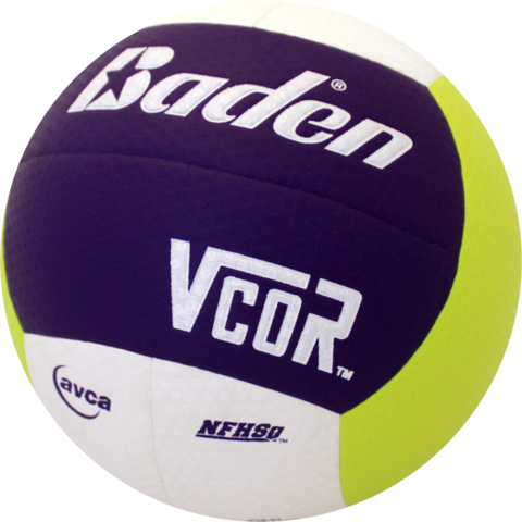Baden VCOR™ Volleyball - Purple/Lime/White