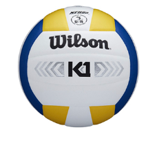 Wilson K1 Silver Volleyball - Yellow/White/Blue