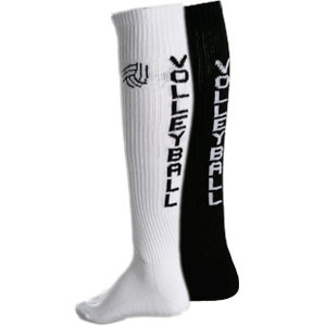 Canuckstuff Knee High Volleyball Text Socks