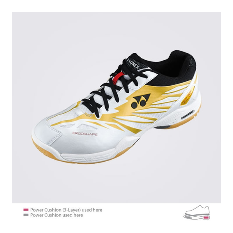 Yonex Men's F1 Ltd. - White/Gold