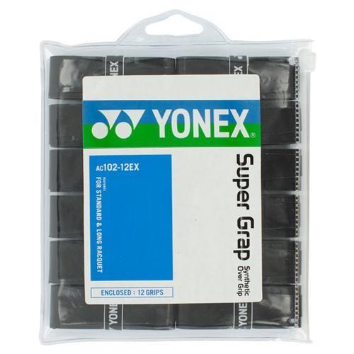 Yonex Clean Grap 3 pack black//silver