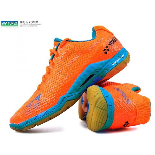 YONEX MEN'S POWER CUSHION AERUS SHBAMX - ORANGE