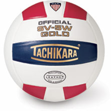 Tachikara USA SV5W Gold Volleyball