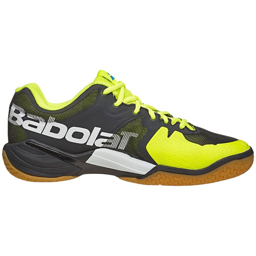 Babolat Shadow Tour Men's Badminton Shoe - Black/Yellow