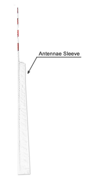 Canuckstuff Antenna Sleeves (one Pair)