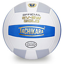 Tachikara SV5W Gold Volleyball